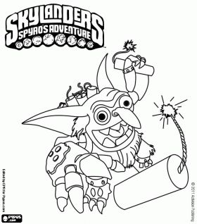 skylanders coloring pages for boys - photo#8