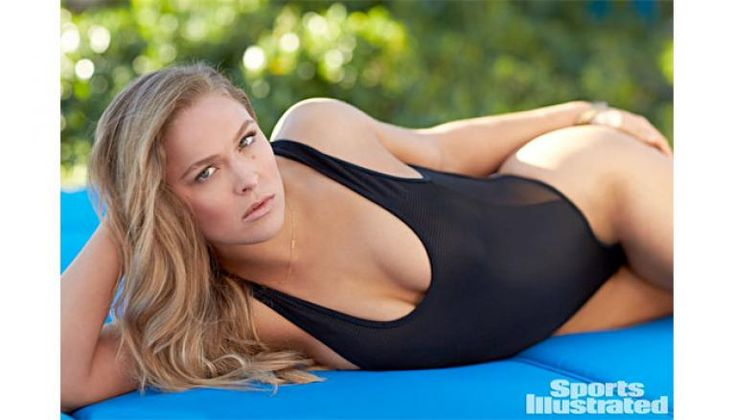 Ronda Rousey Suprises in Sports Illustrated Swimsuit 2015 Edition