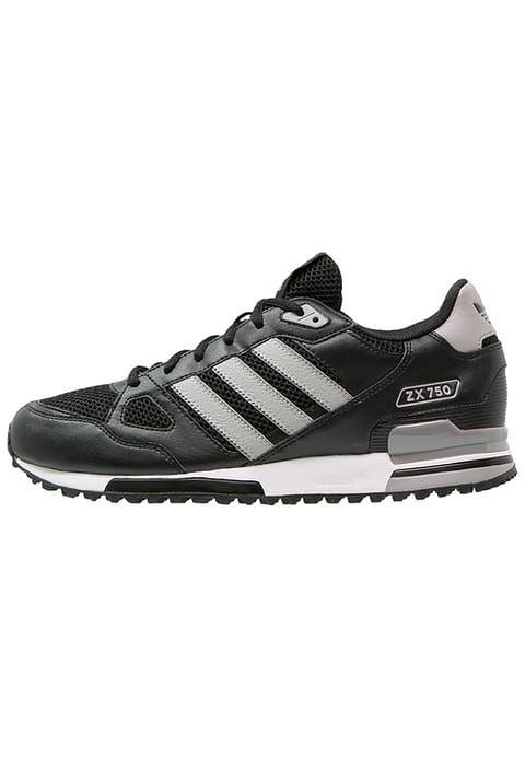 Pedir  adidas Originals ZX 750 - Zapatillas - core black/solid grey por 79,95 € (12/04/17) en Zalando.es, con gastos de envío gratuitos.