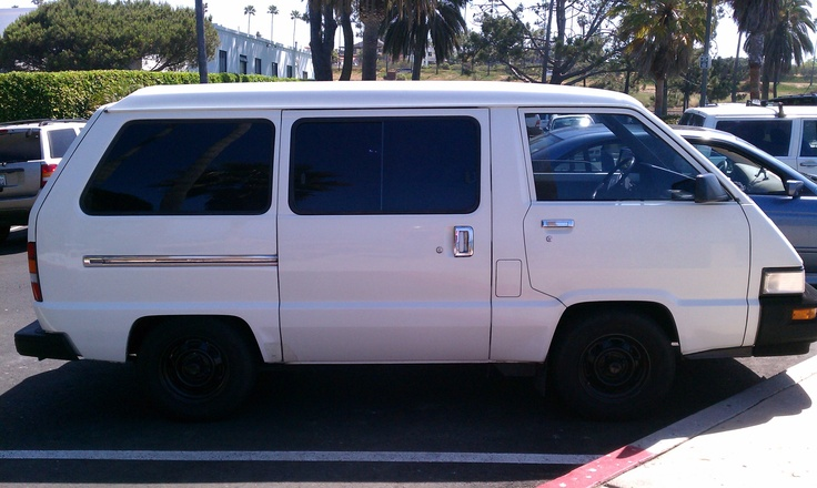 Our own pride and joy. 1989 Toyota Van.