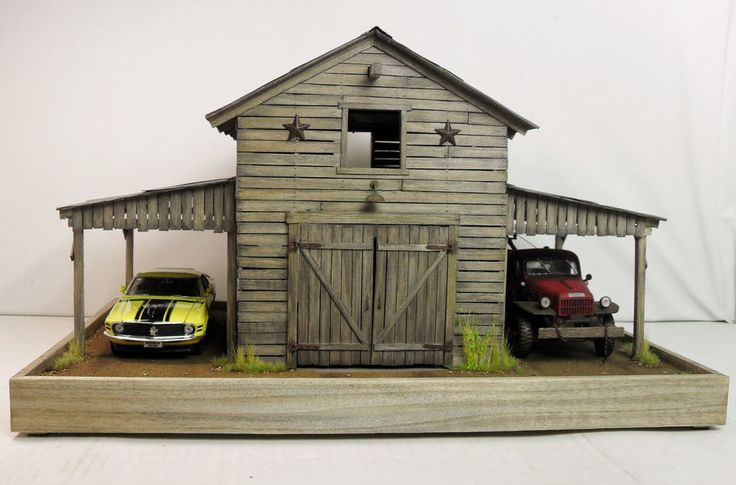 1 24 1 25 Barn Garage Diorama For Sale On Ebay: 1000+ Images About Dioramas On Pinterest