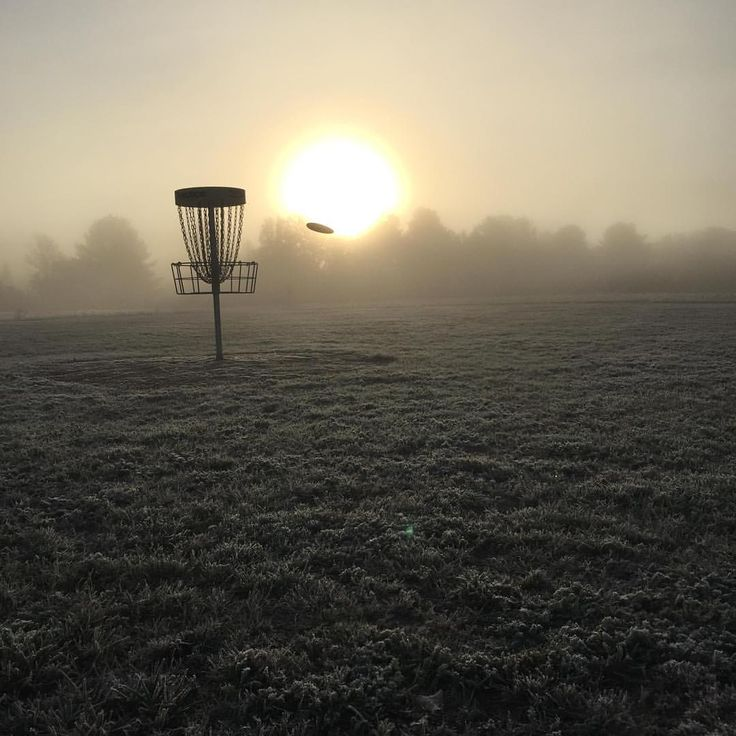 To all you early risers, we can't think of a better way to start the day⛳️ #discgolf