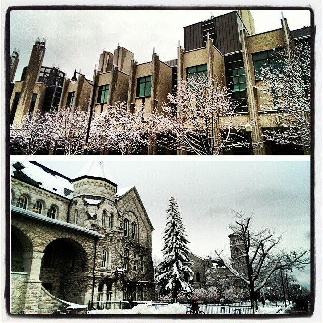 """@forest0412's photo: """"Snow! #Queensu"""