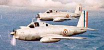 Prototypes du Br.1050 Alizé. (©Dassault Aviation)
