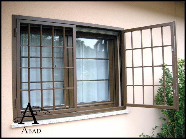 Las rejas de seguridad para las ventanas, además de ser un sistema disuasorio y de seguridad, ofrecen un toque personal y distinguido para su vivienda o chalet.