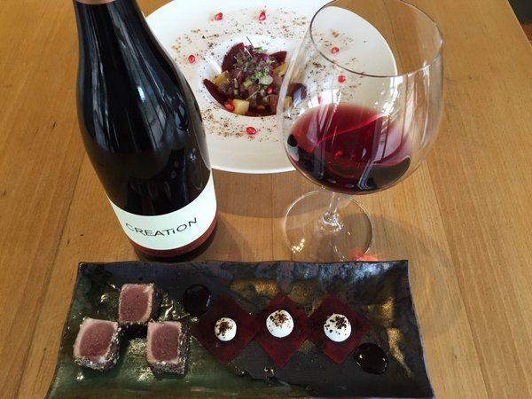 Tuna and Pinot Noir