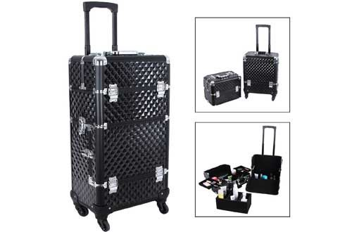 Rolling Makeup Train Cases