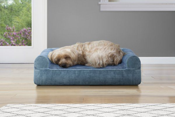 Extra Large Memory Foam Dog Bed Pillow With Orthopedic Comfort Heavy Duty Waterproof Canvas Cover Dog Pillow Bed Best Orthopedic Dog Bed Orthopedic Dog Bed