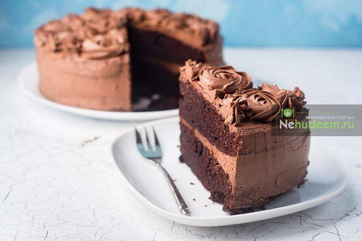 Шоколадно-кофейный торт — Пошаговые рецепты с фото