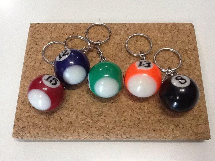 Portachiavi palla da bowling idea regalo