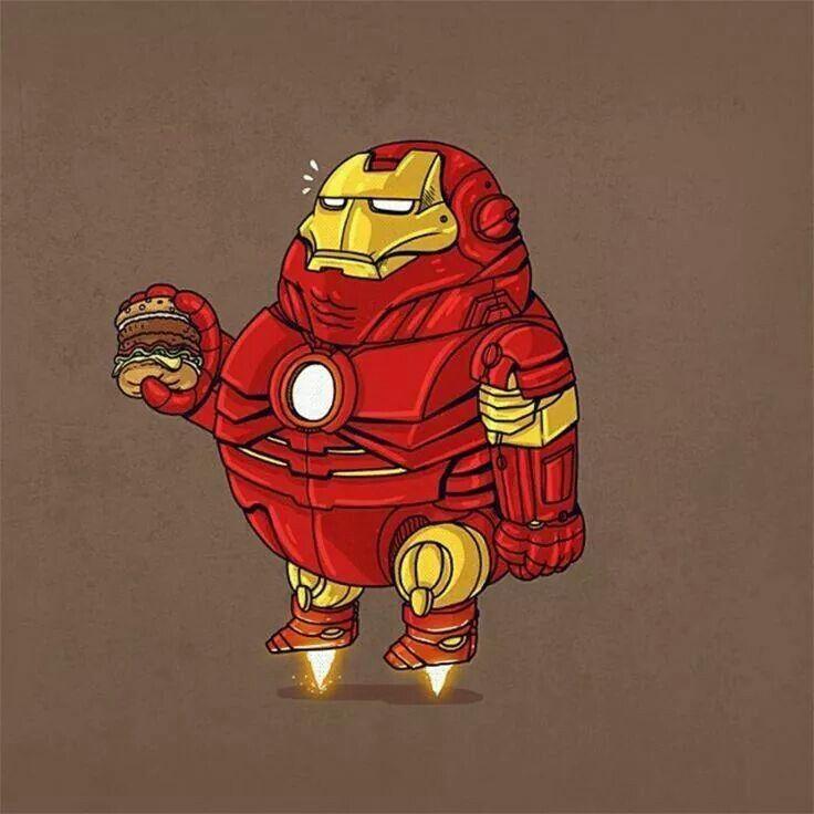 Overweight Iron man