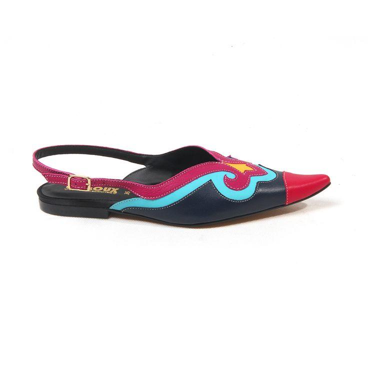LEGO LAND - Sapato bico fino multicolorido louloux