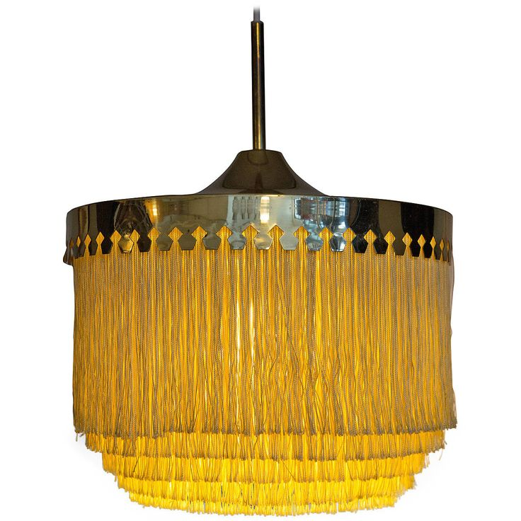 Hans-Agne Jakobsson Brass Scandinavian Lamp | From a unique collection of antique and modern chandeliers and pendants  at https://www.1stdibs.com/furniture/lighting/chandeliers-pendant-lights/