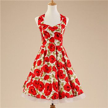 Barato Vestido de algodão Vintage verão, retro 50 s Rockabilly balanço senhora vestidos estilo Floral imprimir mulheres com saia Vestido H5, Compro Qualidade Vestidos diretamente de fornecedores da China:                                        Descrição do produto: