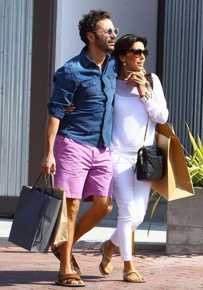 Eva Longoria Photos: Eva Longoria & Jose Antonio Baston Go Shopping In Malibu