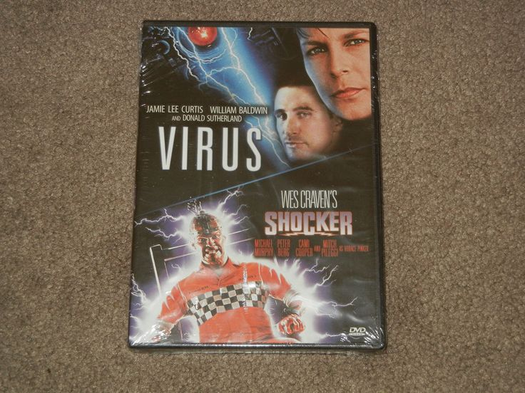 VIRUS/Wes Craven's SHOCKER Double Feature (DVD, Movie, Sci-Fi, 2013, Widescreen)