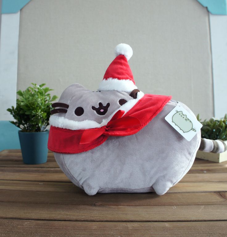 "Gund - Pusheen Christmas 12"" – Blashful"
