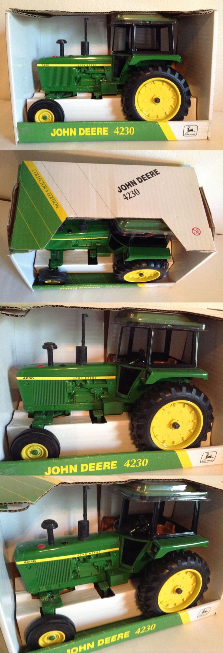 Vintage Manufacture 741: John Deere 4230 Row Crop Tractor Collector Edition Nib Ertl 1 16 Hard To Find! -> BUY IT NOW ONLY: $70 on eBay!