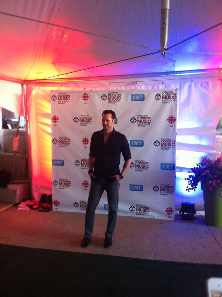 Chad Brownlee at the #CCMA Awards