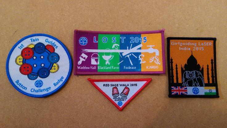 Girlguiding Badges