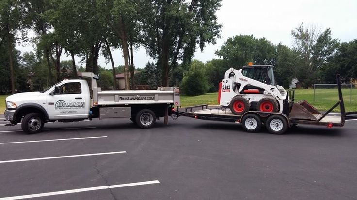 Ready to head out to a new landscaping job. ringlawncare.com