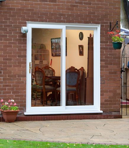 Patio Doors in White UPVC