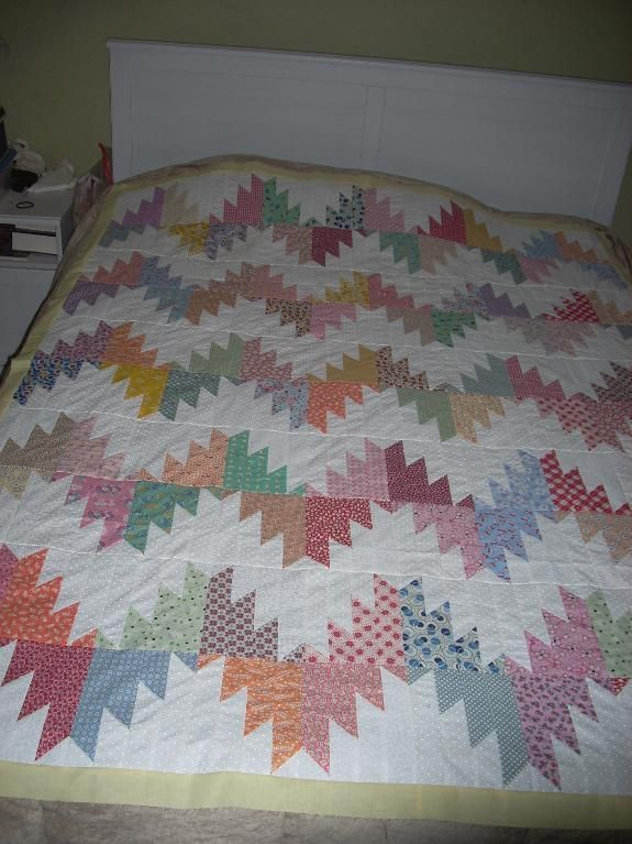 Quilting Project Ideas : 73 best Q Delectable Mountains images on Pinterest Patchwork quilting, Quilt blocks and ...