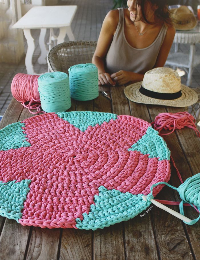 M s de 1000 ideas sobre alfombras de trapo en pinterest - Como lavar alfombras ...