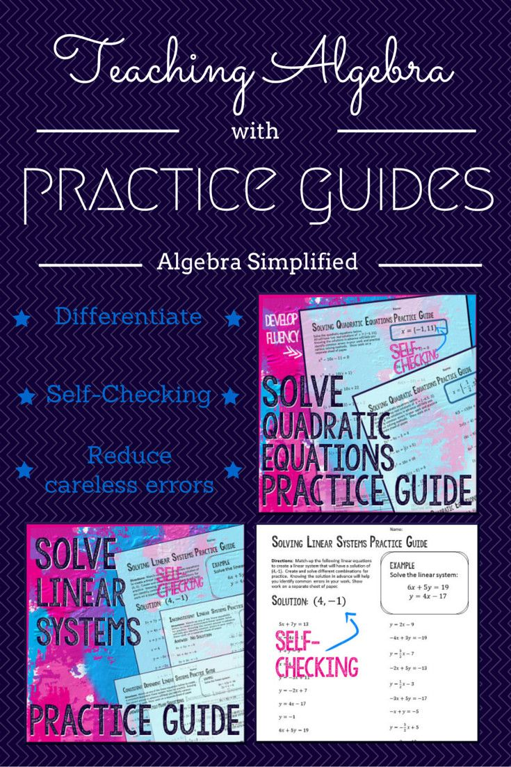96 Best Count Me In Images On Pinterest High School Maths Math New Schematic Software For Engineersquick And Easy Circuits Have You Tried Practice Guides The Algebra Classroom Develop Procedural Fluency Give Immediate