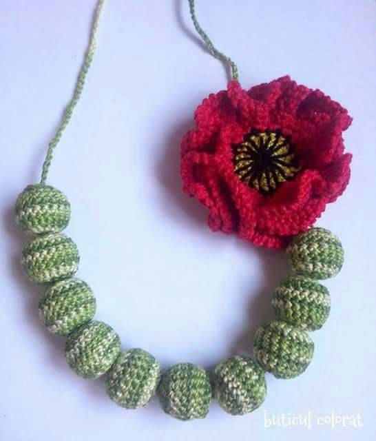 Check out this item in my Etsy shop https://www.etsy.com/listing/278831948/poppy-necklace-crochet-teething-nursing
