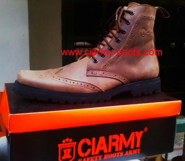 Sepatu Boots  Type C-051 DANY :081802060232 / PIN-BB 2316726C   www.ciarmy-boots.com