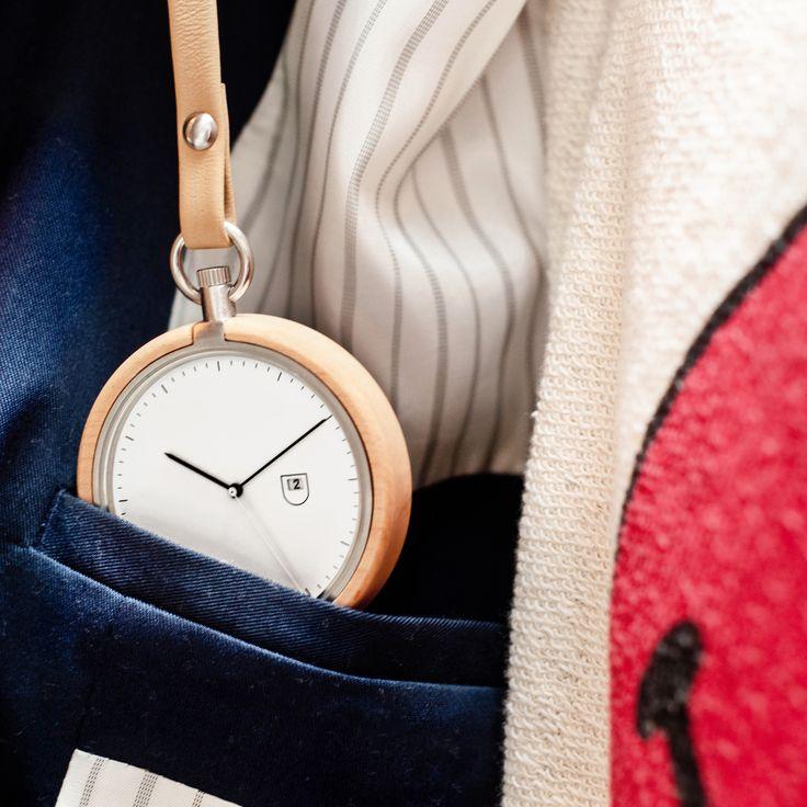Calendar|木製の懐中時計  - ガジェットの購入なら海外通販のRAKUNEW(ラクニュー)