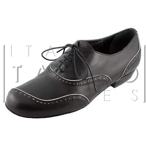 "shoes: ""Asimmetrico"" in calf leather with English-style perforation http://www.italiantangoshoes.com/shop/en/men/152-asimmetrico.html"