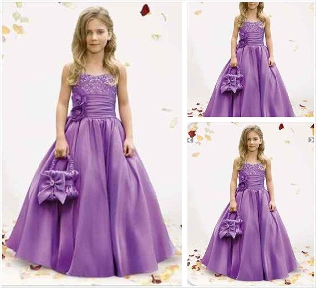 lavendar wedding dresses | Purple Flower Girl Dress Evening Skirt - - Keren Wedding dress put the lavendar buds or things u r going to throw