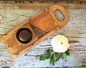 Vintage Wooden Vegetable Slicer Wooden Mandolin Kitchen Decor Farmhouse Decor https://www.etsy.com/shop/CottageBlu