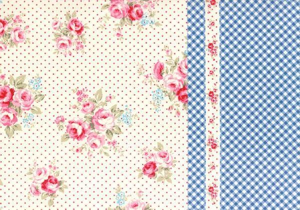 http://www.plushaddict.co.uk/lecien-flower-sugar-border-cotton-oxford-cloth.html Lecien - Flower Sugar Border Cotton Oxford Cloth - cotton fabric