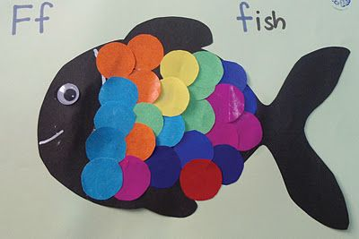 """I saw this lovely fish which I want my 3 year old son to make on """" Teacher Weena's blog"""""""