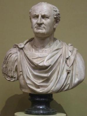 Портрет Тита Флавия Веспасиана (9-79 гг.) Римский император с 69 по 79 гг.