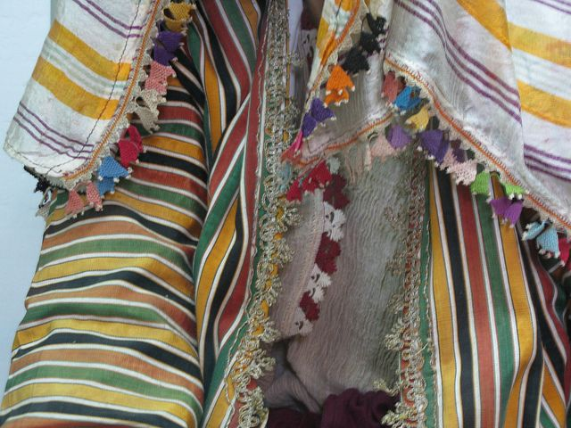 stripes. Ottoman textile? reminds me Javanese 'lurik' textile