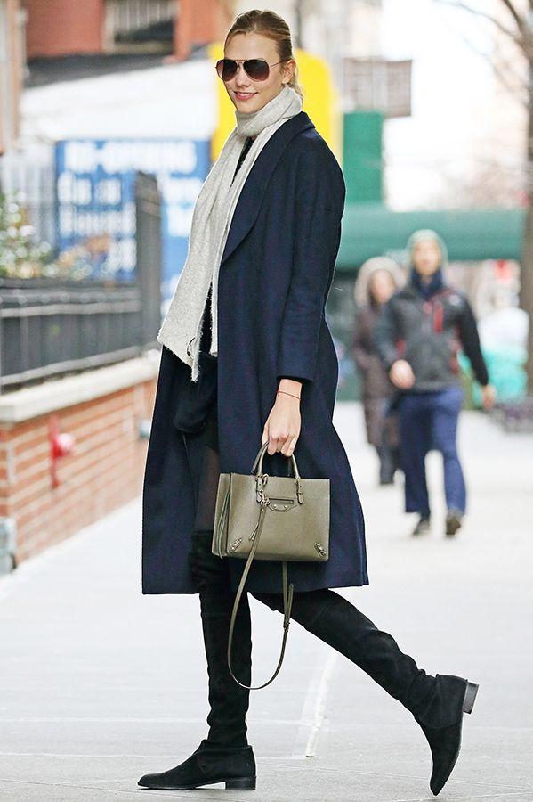 極寒の季節到来! ブーツやストールを使った防寒TIPSは、ファッションセレブに学んで。 海外セレブ・ゴシップ VOGUE JAPAN