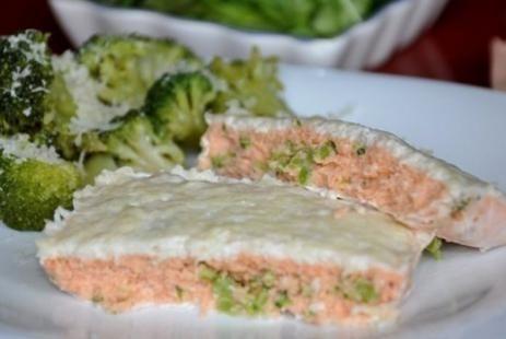 Запеканка из форели и брокколи рецепт :: JV.RU