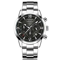 Men's Fashion Watch Quartz Casual Watch Stainless Steel Band Casual Black White Silver. Best cheap watches are cool watches too. You can buy best watches under 100 dollars. Very affordable watches and mens watch under 100. Best affordable watches - these are amazing watches below 100 bucks,  and affordable mens watches too.