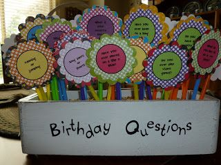 Fun For First: Student Birthdays Idea!