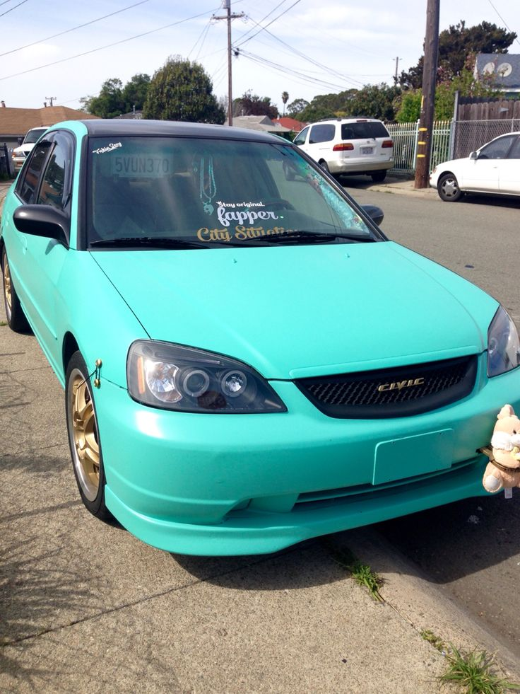 Es1 Civic 7th Gen Civic Honda Civic Jdm Tiffany Blue