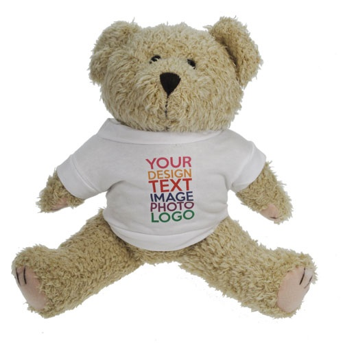 Personalised Teddy Bear - a cute gift for the one you love.