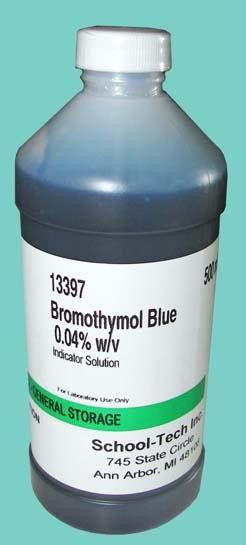 Bromothymol blue, indicator solution, 0.04% - 500ml
