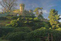 Photo of the Mound, Warwick Castle, Warwickshire, England.