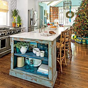 The Kitchen   Holiday Home Decorating - Southern Living Mobile