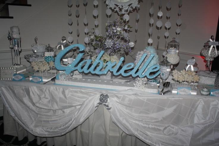 Winter Wonderland Candy Table - Children's Party Network