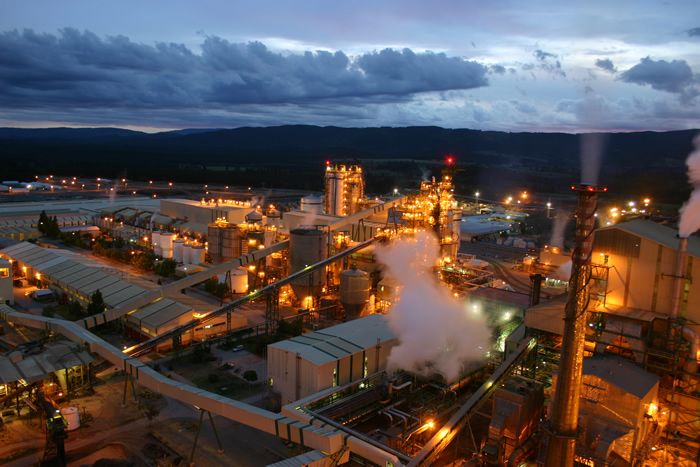 Santa Fe Celulose Pulp Plant, Nacimiento, Chile